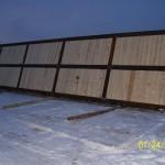 "8' x 40"" - 3 rail mat."