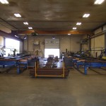 2 fabrication lines.