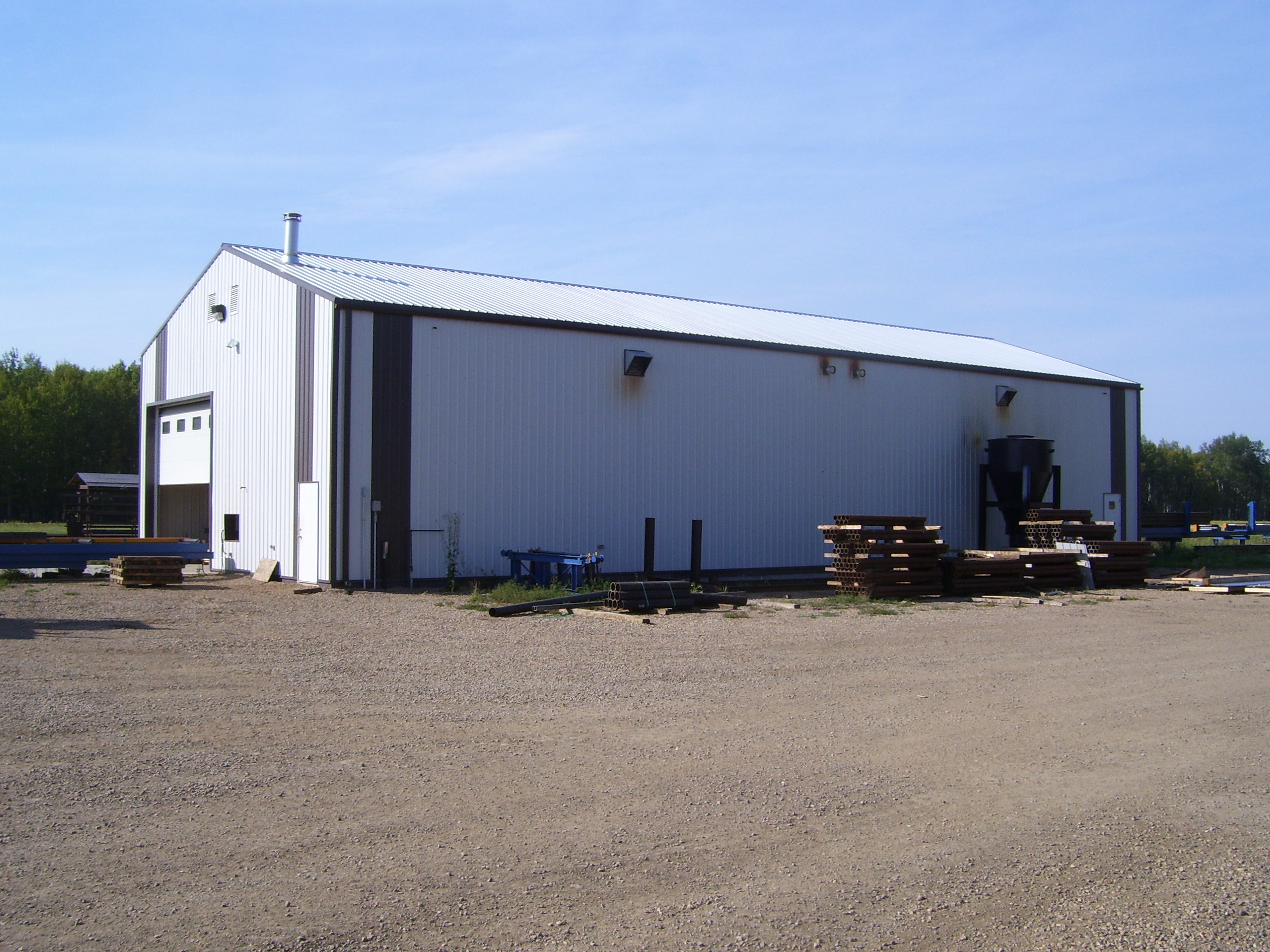 Photo gallery valley mats for 4000 sq ft steel building